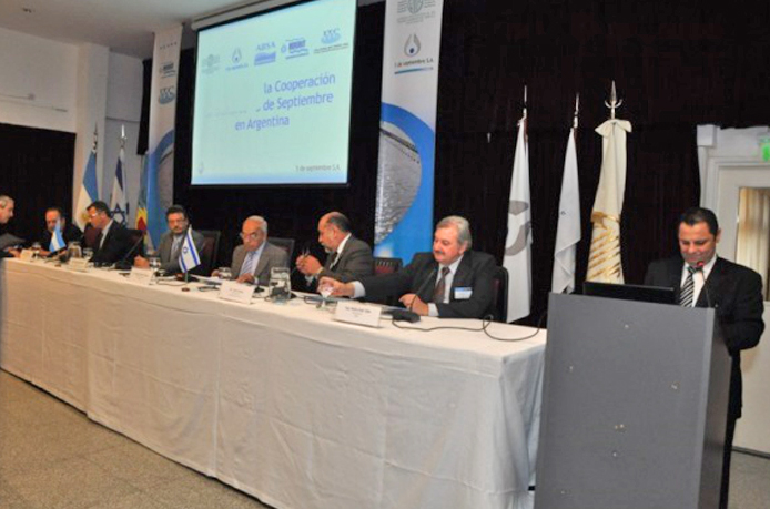 Organización del Tercer Seminario sobre ¨Experiencia Israelí en la Gestión de los Recursos Hídricos¨ – Mar del Plata – Para las empresas Operadoras de Agua de la República Argentina.