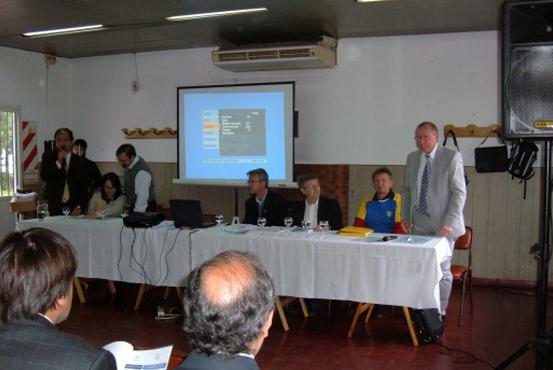Organización del Seminario ¨Intercambio de Conocimientos Técnicos entre la empresa Norrvatten de Suecia y Cinco de Septiembre S.A.¨ – Camping Sosba – La Plata