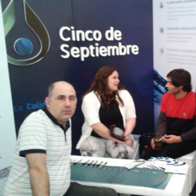 Participación en el «Congreso Académico en el marco de la Expotécnica Cooperativa de FEDECOBA» en la ciudad de Azul.