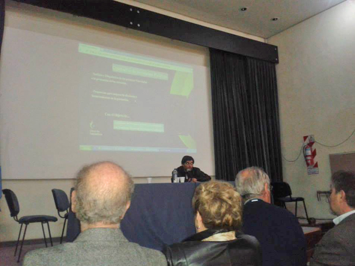 Participación en ¨Semana del Agua¨ en el Museo de Ciencias Naturales de La Plata, organizado por la Universidad Nacional de La Plata
