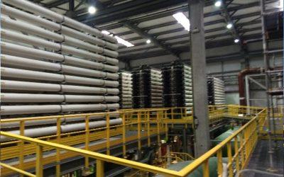 Planta de Reuso de efluentes cloacales para Polo Petroquímico. Proyecto realizado con Mekorot Water Company de Israel