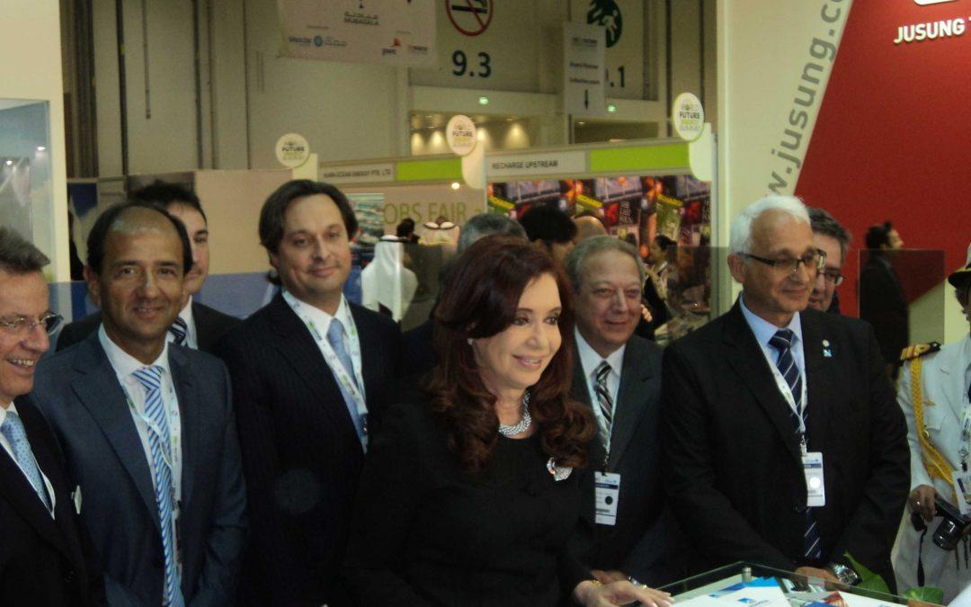 Participación en la Cumbre de Energía en la ciudad de Abu Dhabi – Emiratos Árabes.